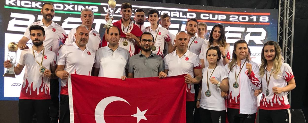 Milli Takımımız Dünya Kupasında 2 Altın, 1 Gümüş, 7 Bronz Madalya Kazandı