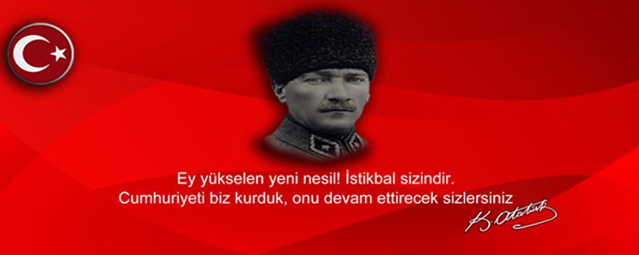 19 Mayıs Atatürk' ü Anma Gençlik ve Spor Bayramı Kutlu Olsun