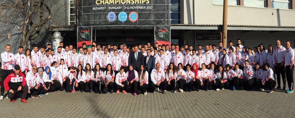 Dünya Şampiyonasında Milli Takımımızdan 42 Madalya