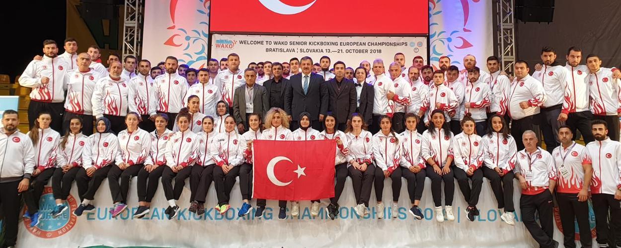 Milli Takımımız Avrupa Şampiyonasına Damgasını Vurdu 3 Altın, 7 Gümüş, 12 Bronz Madalya