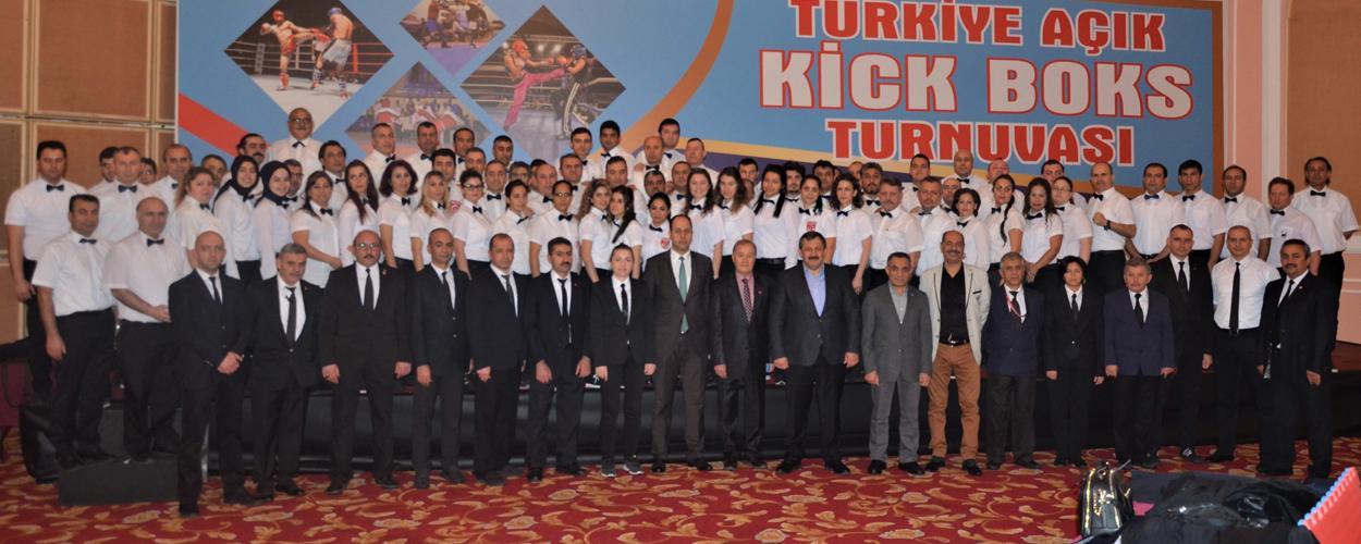 Türkiye Açık Kick Boks Turnuvası Sona Erdi